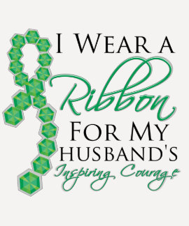 Husband's Inspiring Courage - Liver Cancer Shirts
