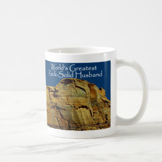 Husband's Rock-Solid Blue Mug