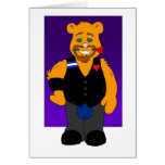 Husbear: Gay Greeting Card (LOVE)