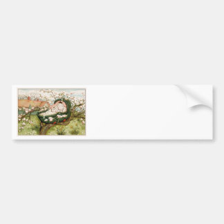 Hush A Bye Baby Bumper Sticker