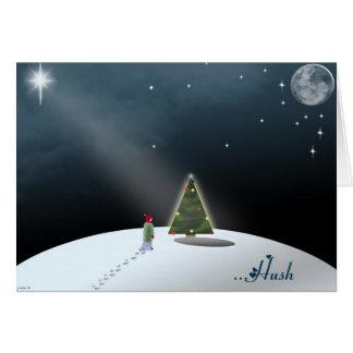 Hush Holiday Card Card