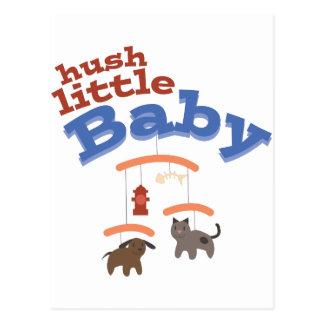 Hush Little Baby Postcard