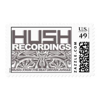 Hush Postage Stamp