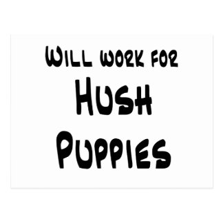 Hush Puppies Postcard