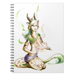 Hush! She's Doing Science Spiral Notebook