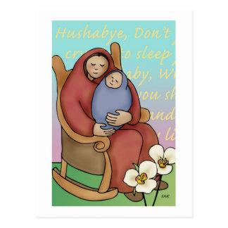 Hushabye Mama Postcard