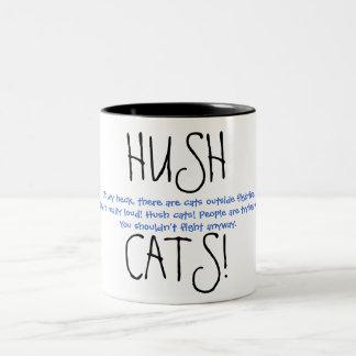 ¡HUSHCATS! Ver. 3 Taza De Dos Tonos