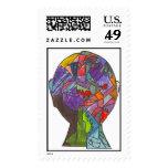 Huske-Jackson K Stamps
