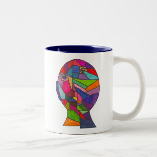 Huske-Rachel W Two-Tone Coffee Mug