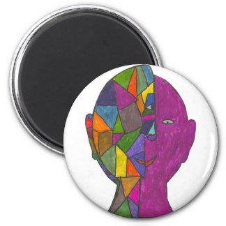 Huske-Zachary A 2 Inch Round Magnet