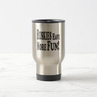 Huskies Have More Fun Mug