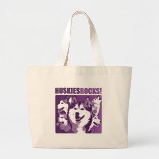 Huskies Rock! Canvas Bag