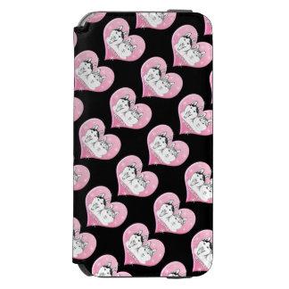 Huskies Snow Pink iPhone 6/6s Wallet Case
