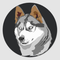 artsprojekt, husky, dog, pet, canine, wolf, wild, nature, prairie wolf, Rock music, leonberg, Recording Industry Association of America, canis rufus, extended play, canis niger, Guns N' Roses, canis latrans, studio album, state of nature, Patience (Guns N' Roses song), pug-dog, Billboard Hot 100, brush wolf, eyetooth, eye tooth, animate being, canine tooth, belgian griffon, canis lupus tundrarum, dogtooth, cuspid, dyad, duad, couplet, distich, pricker, glochidium, glochid, spikelet, aculeus, Sticker with custom graphic design