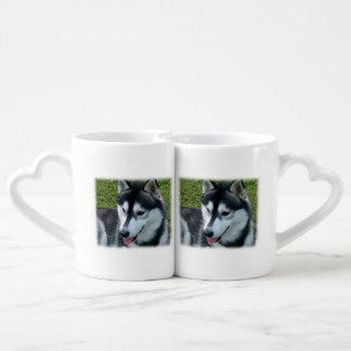 husky-2 tazas para parejas