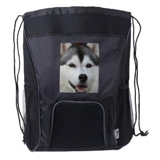 husky-6 drawstring backpack