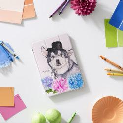 iPad mini Cover with Siberian Husky Phone Cases design