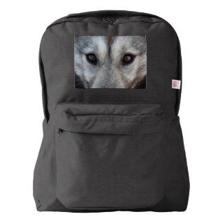 Husky Backpack Siberian Husky Wolf Pup Backpacks