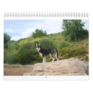 Husky Calendar 2011