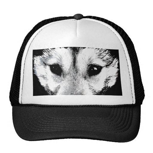 Husky Caps Sled Dog Caps  Husky / Wolf Hats Gifts