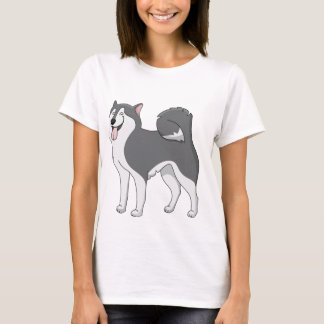 husky cartoon 2 T-Shirt