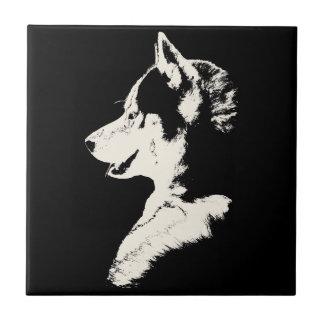 Husky Dog Art Ceramic Tile Sled Dog Decor & Gifts