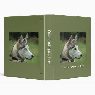 Husky dog beautiful photo album, gift binders