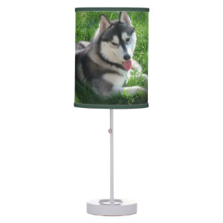 Husky Dog Desk Lamp
