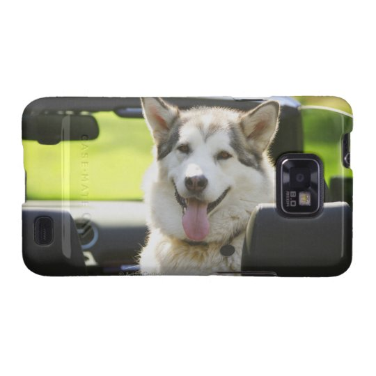 Husky dog from convertible samsung galaxy s2 case