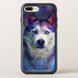 OtterBox Apple iPhone 7 Plus Symmetry Case with Siberian Husky Phone Cases design