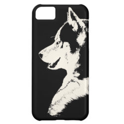 Case-Mate Barely There iPhone 5C Case with Siberian Husky Phone Cases design