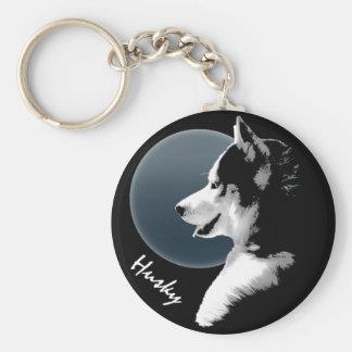 Husky Dog Key Chains Custom Husky Pup Keychains