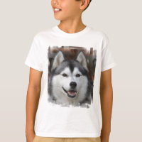 Husky Dog Kid's T-Shirt