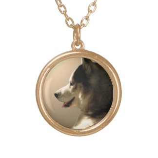 Husky Dog Necklace Siberian Husky Malamute Jewelry