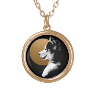 Husky Dog Necklace Siberian Husky Pup Necklace