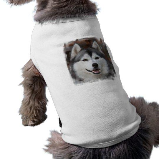 Husky Dog Shirt Zazzle