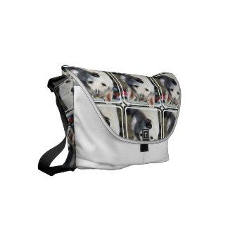 Husky Dog Small Messenger Bag