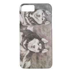 Case-Mate Barely There iPhone 7 Case with Siberian Husky Phone Cases design