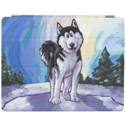 iPad 2/3/4 Cover with Siberian Husky Phone Cases design