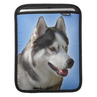 Husky Eyes iPad Sleeve Malamute Sled Dog Sleeve