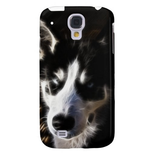 Husky Fractal iPhone3G Cover Samsung Galaxy S4 Covers