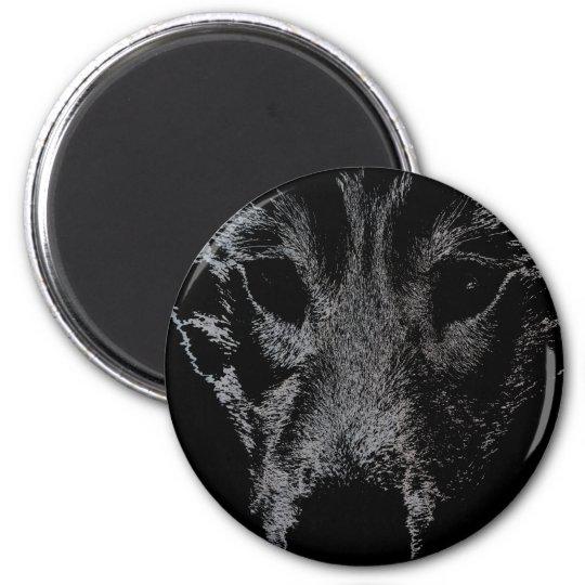 Husky Fridge MagnetSled Dog Wolf Magnet / Gift