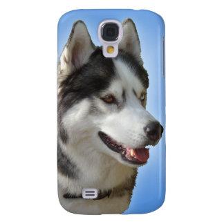 Husky Galaxy S4 Case Sled Dog Husky Eyes Case