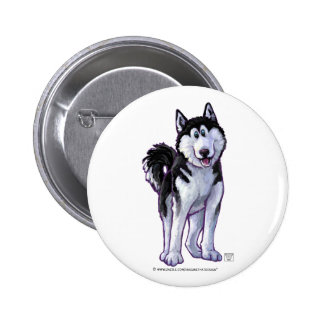 Husky Gifts & Accessories Pinback Buttons