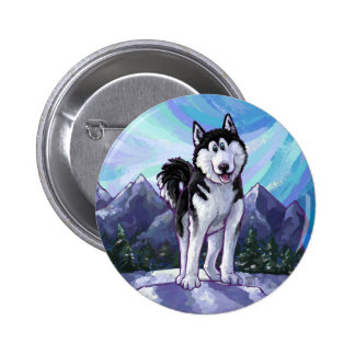Husky Gifts & Accessories Buttons