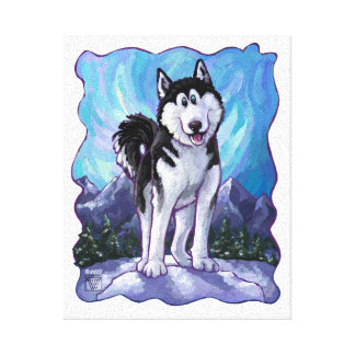 Husky Gifts & Accessories Canvas Print