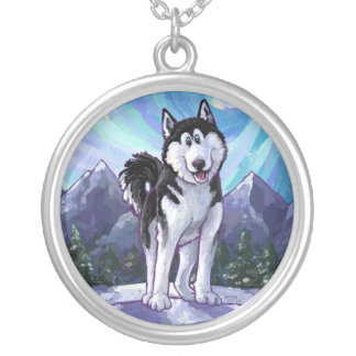 Husky Gifts & Accessories Silver Plated Necklace