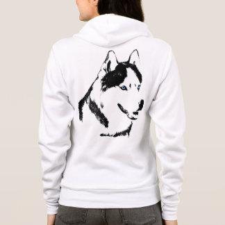 Husky Hoodie Jacket Women's Hooded Husky Jacket