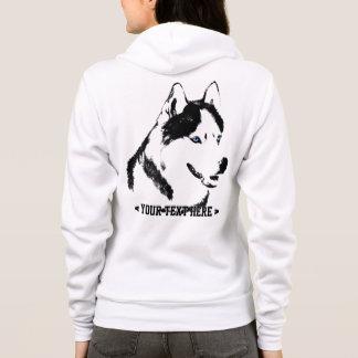 Husky Hoodie Shirt Hooded Sweatshirt Dog Shirts