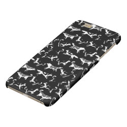 Case Savvy iPhone 6 Plus Glossy Finish Case with Siberian Husky Phone Cases design